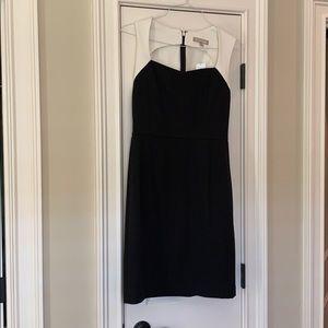 Banana republic size 10 dress.  Cream/black NWT